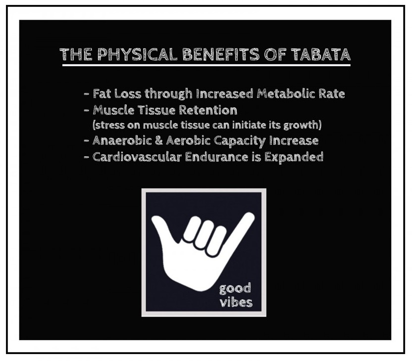 tabata benefits the body