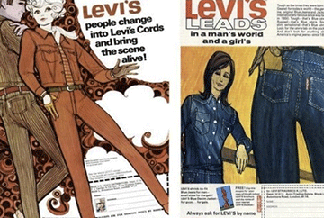 vintage levis ads are fun