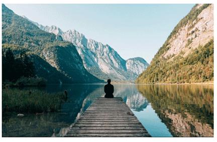 Meditative Spaces are Peaceful