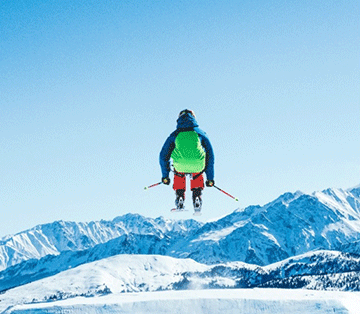 ski jumping fun