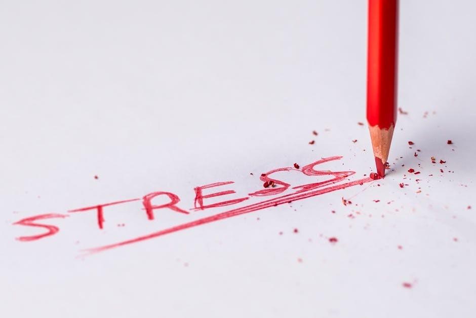 stress is no good