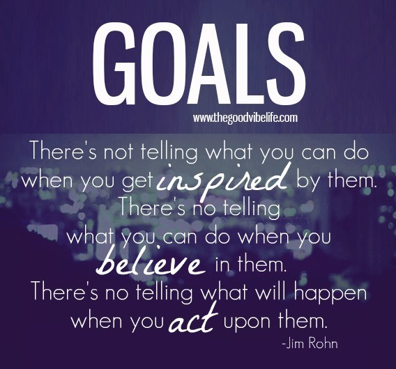 act upon your goals