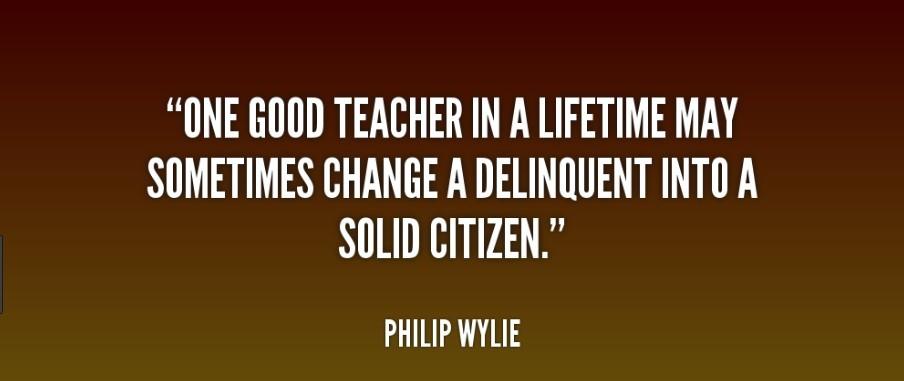 good teachers are gold