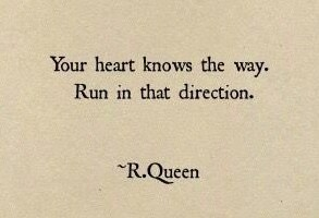 run in that direction