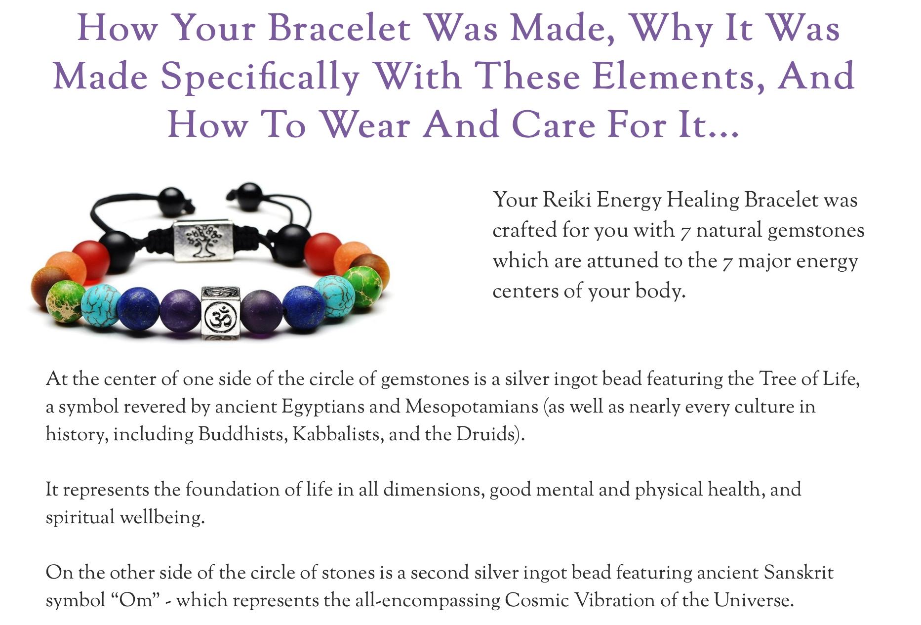 Best energy bracelet