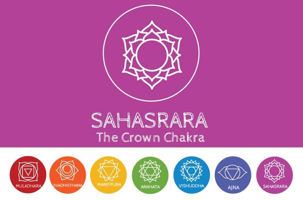 crown chakra graphic