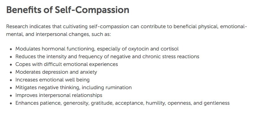 health benefits of compassion