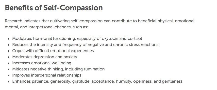 health benefits of compassion