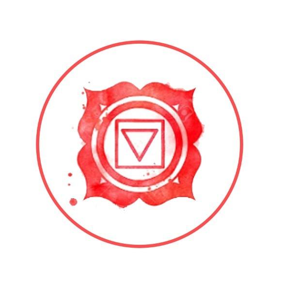 root chakra graphic