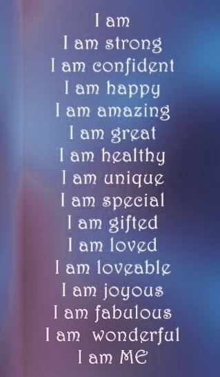 affirmations are a good thing