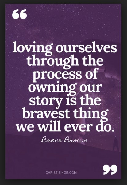 brene brown motivational quote