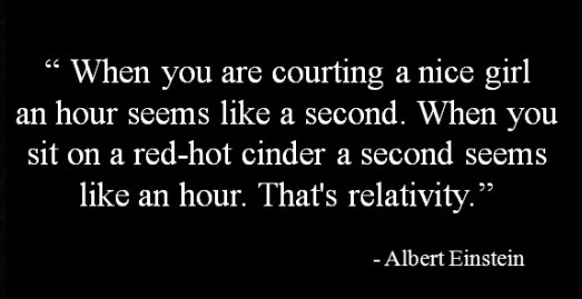einstein quote about relativity