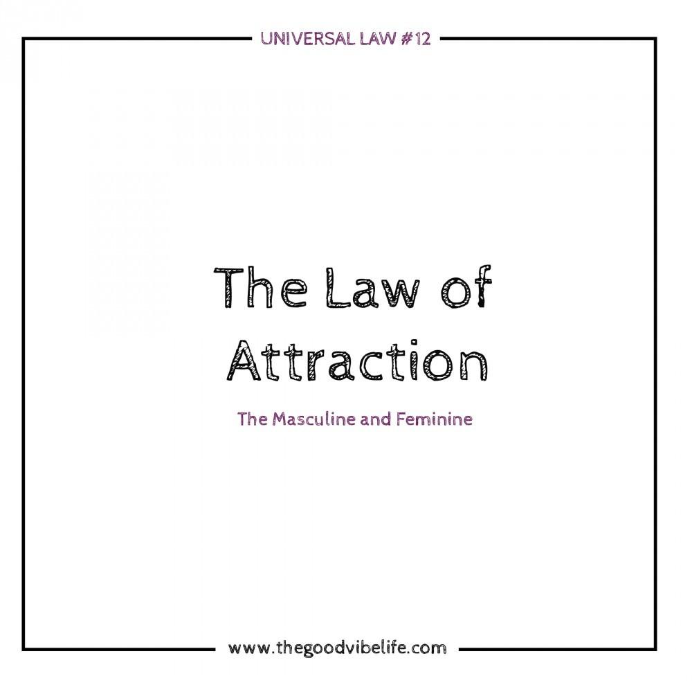 Universal law number twelve