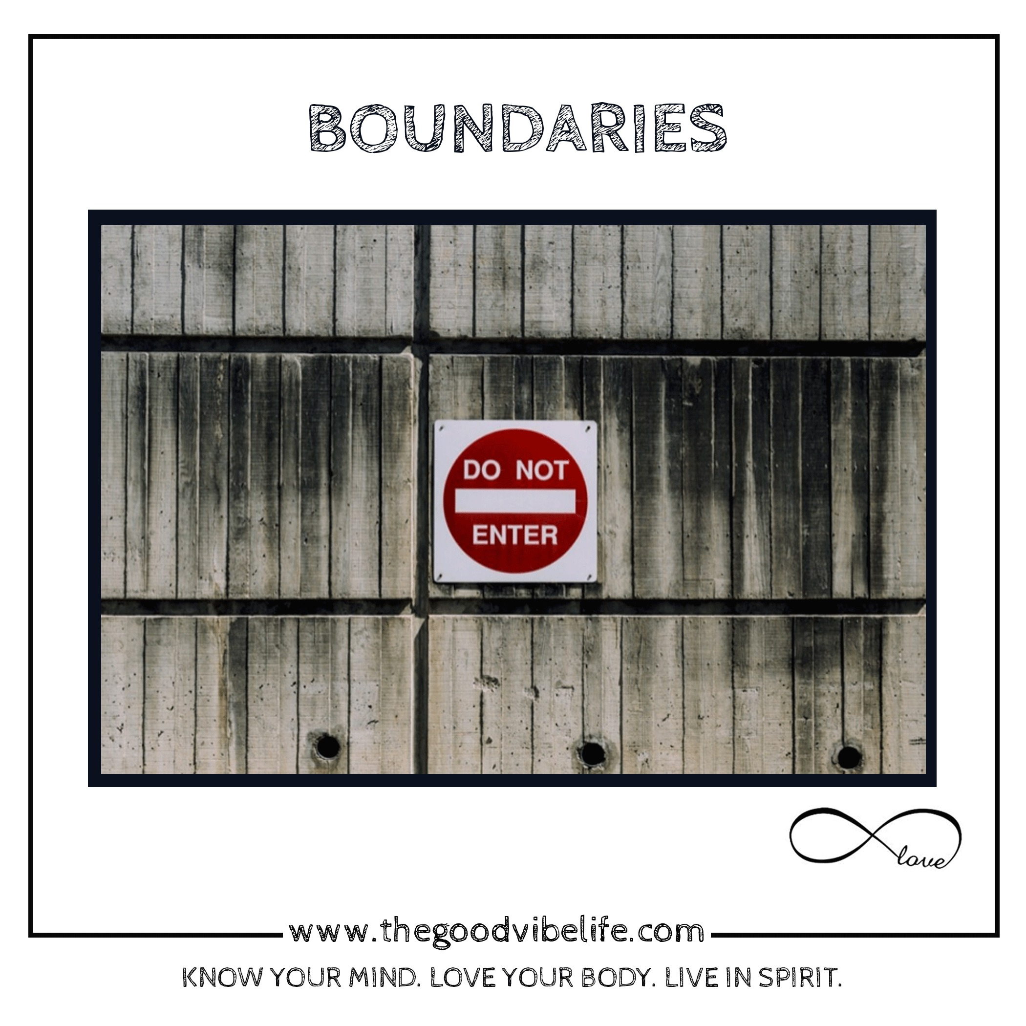 boundaries are freedom