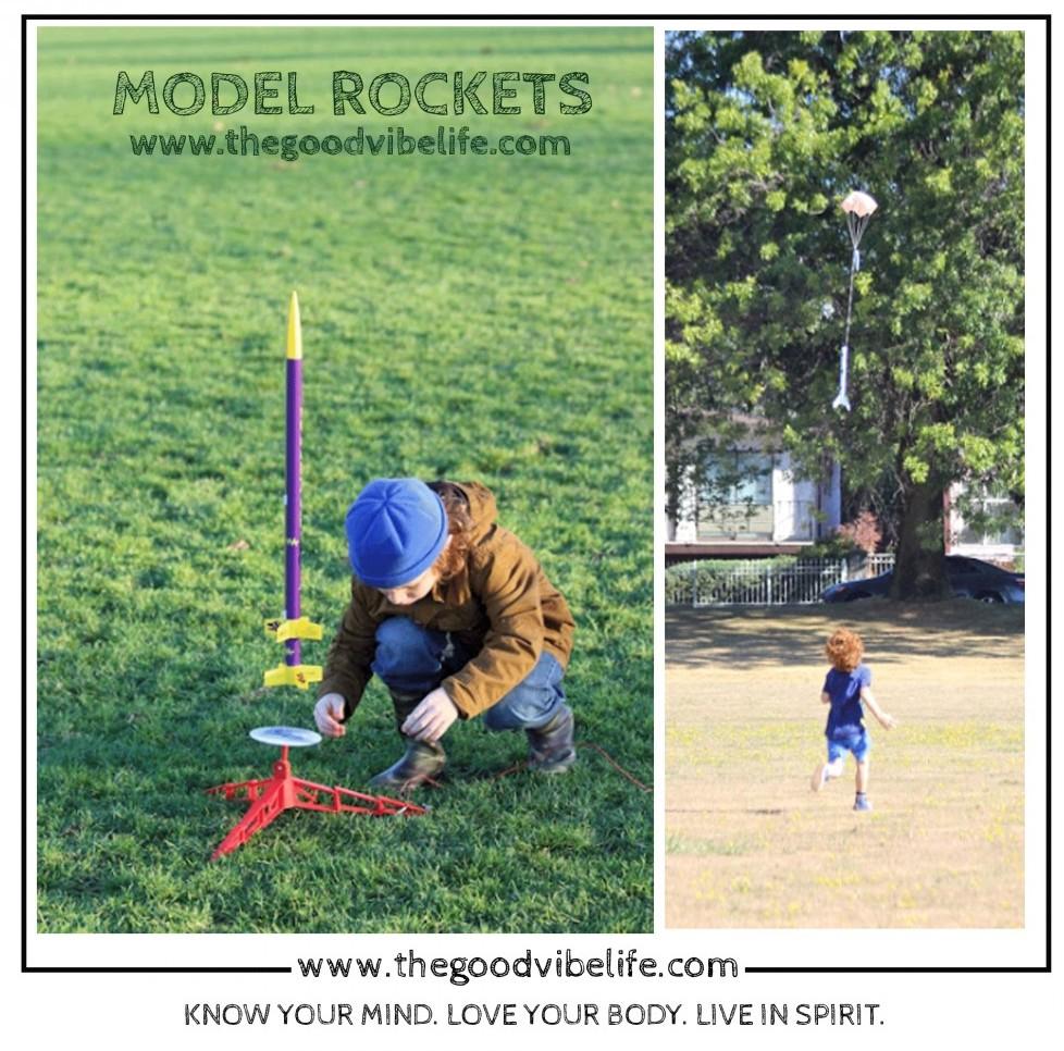 model rocket retrieval