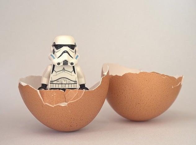 born a trooper