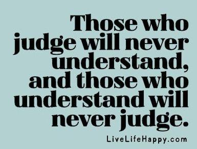 discern not judge