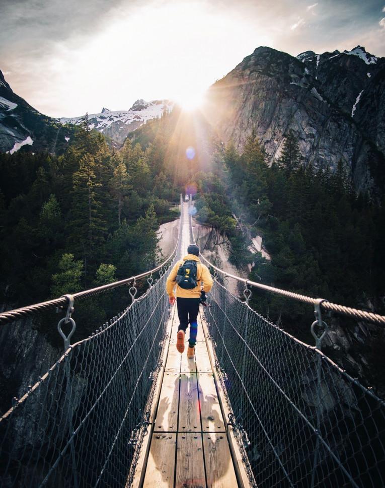 Bridge over the world to life