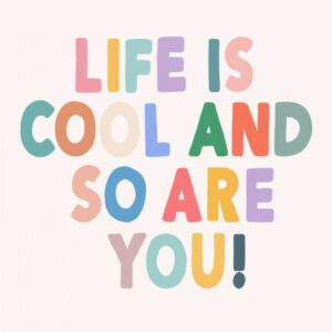 Live life in a range of colours