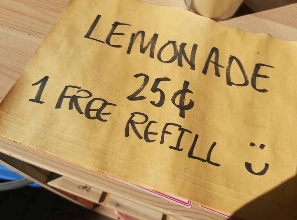 Refill kindness lemonade feels