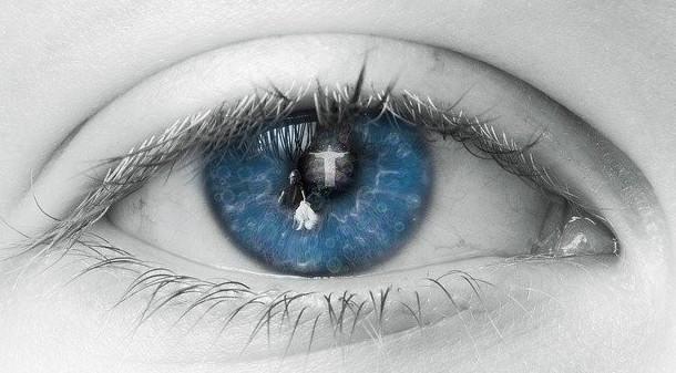 The ojo blue