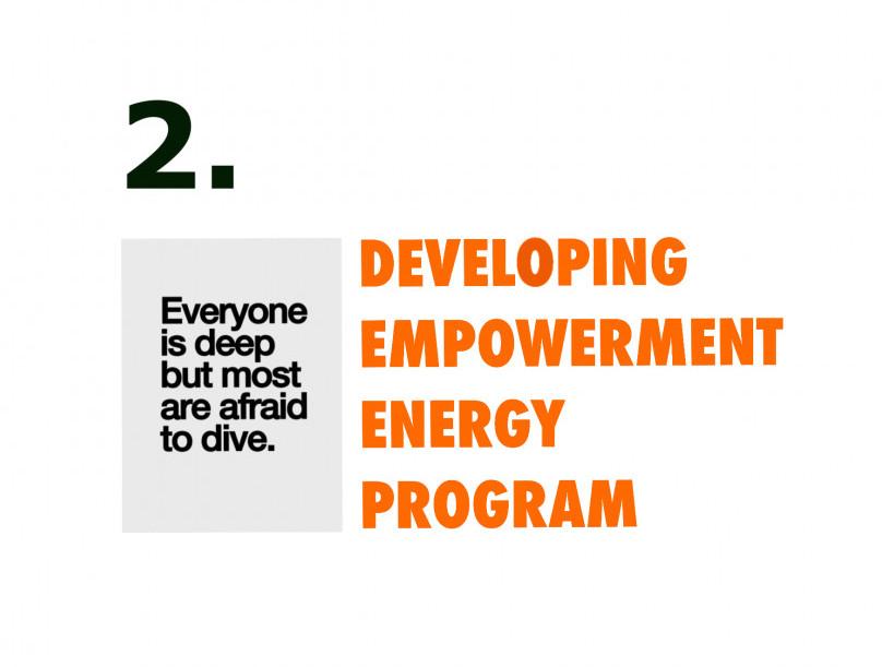 Developing empowerment energy program week 02