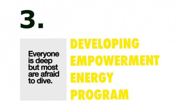 Developing empowerment energy program week three